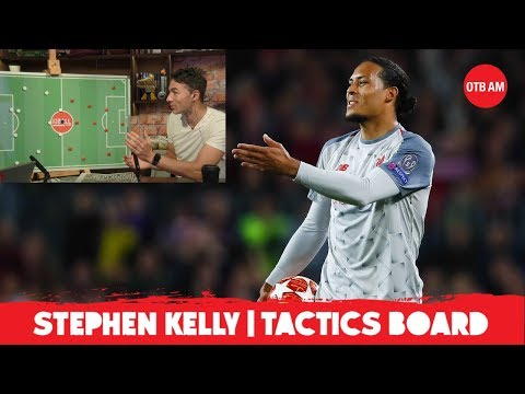 Van Dijk pivotal to Liverpool's full-back threat | Stephen Kelly | CL final Tactics Board