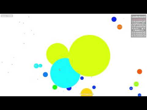 I AM THE POPSPLITKING!? //  SICK POPSPLITS AND MORE! // Agar.io
