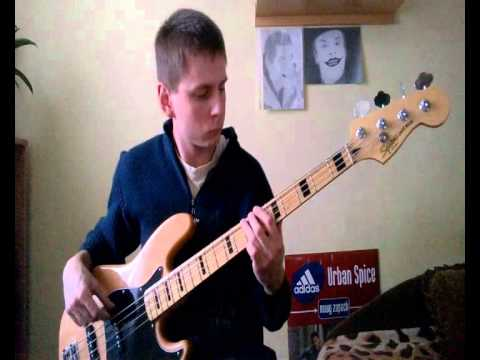 The Clash Brand New Cadillac Bass Cover Youtube