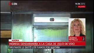 Gendarmería y Grupo Alacrán ingresaron a la casa de Julio de Vido