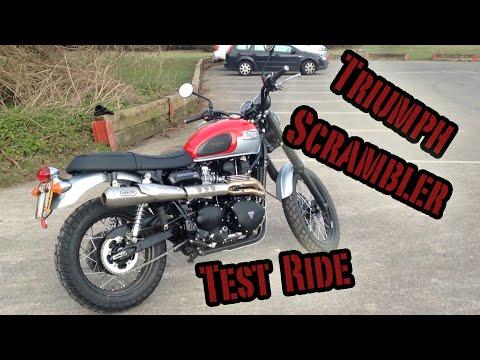 Triumph Scrambler Test Ride
