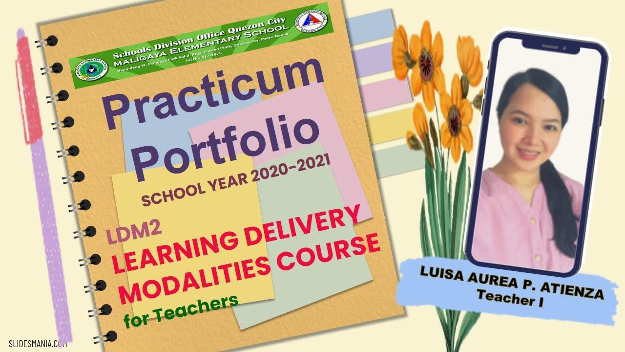 Download PRACTICUM PORTFOLIO LDM2 S.Y. 2020-2021 downloadable I editable annotations I comprehensive