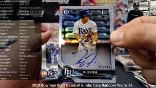 12/14/2018 2018 Bowman Draft Baseball Jumbo Case Random Teams #3 Video