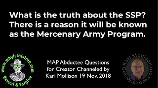 MAP Abductee Questions for Creator Channeled by Karl Mollison short
