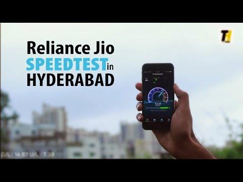 Jio Speedtest in Hyderabad - Unlimited Internet, Unlimited Calls