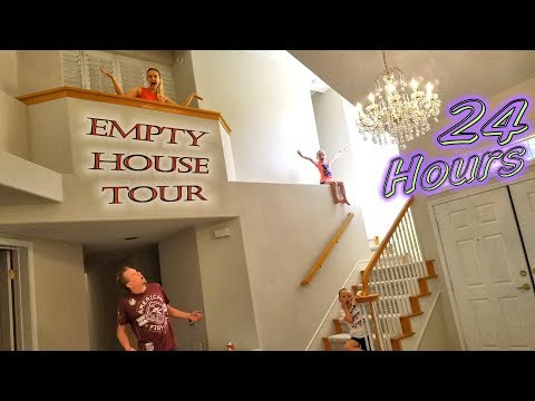 24 Hour Challenge in an Abandoned Mansion!! Scared at 3AM!