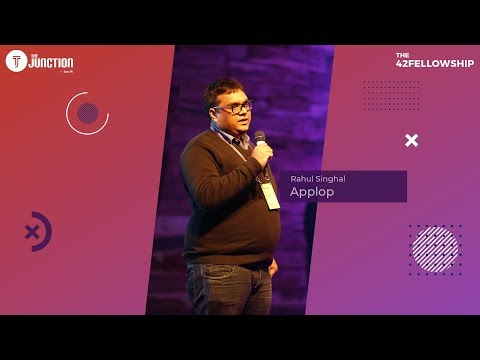 Rahul Singhal (Founder & CEO), Applop) | 42 Fellowship | Inc42