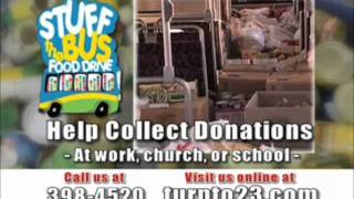 stuff the bus food drive 2012