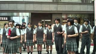 復興の詩プロジェクト2015 復興支援 街かど合唱コンサート 7/5 仙台西高...