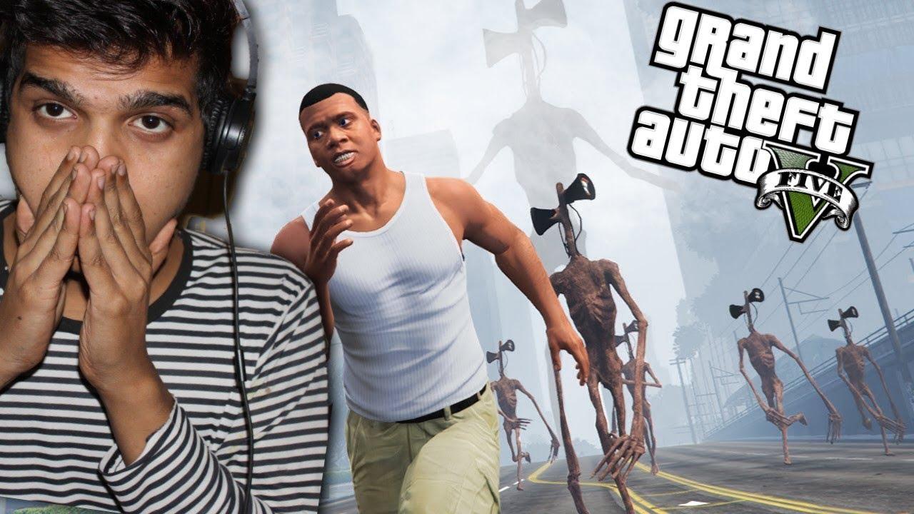 GTA 5 : I FOUND SRIEN HEAD IN LOS SANTOS CITY