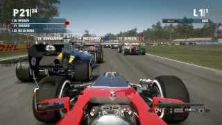 F1 2012 PC HD Gameplay Compilation