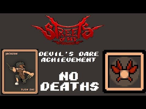 Streets of Red: Devil's Dare Deluxe - Obtaining Devil's Dare achievement without dying as Jackson