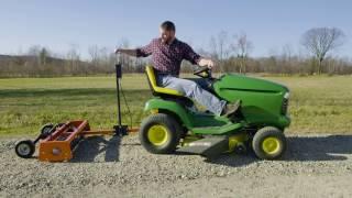 Riding Mower - Handozer D3-5 Demo Video wmv
