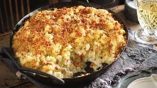 Cauliflower, Leek And Bacon Gratin | 2015 Milk Calendar