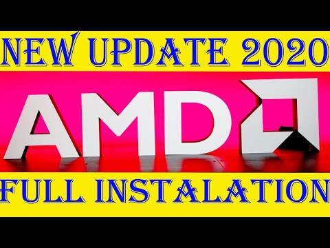 How To New Latest Update & Install AMD Radeon Graphic Driver For Laptops