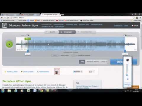 Tuto : comment couper un musique sans logicielle
