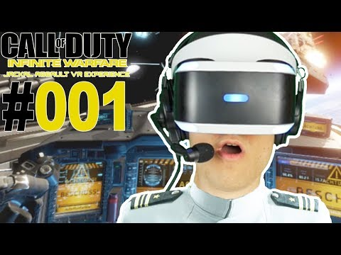 CALL OF DUTY WELTRAUMSCHLACHT MIT PLAYSTATION VR 🐲 Let's Play Infinite Warfare VR [Facecam/Deutsch]