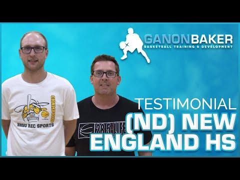 New England High School (ND) Testimonial - Ganon Baker Basketball