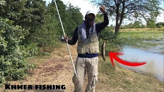 Awesome Fishing Technique - Fishing Traditional Technique Fishing # 07