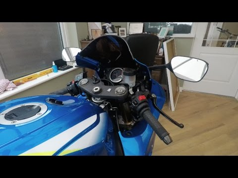 GSXR 750/600 2011/2016 How to change Levers Mods