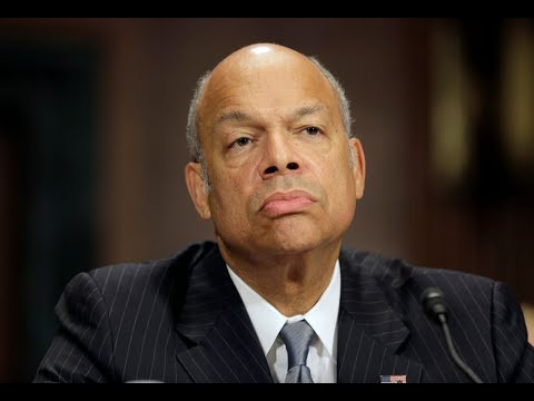 Former DHS secretary Jeh Johnson testifies before House Intel Committee