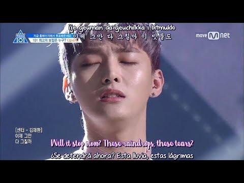 [LIVE] Produce 101 - Downpour (Sub Español - Eng Subs - Hangul - Roma) HD