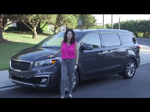 2015 Kia Sedona SXL   Expert Car Review By Lauren Fix   YouTube