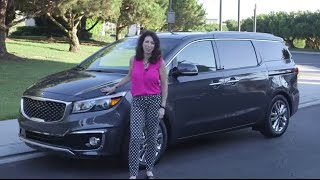 2015 Kia Sedona SXL - Expert Car Review by Lauren Fix