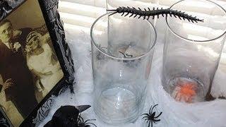 DIY Halloween Mason Jar MakeOver Thumbnail