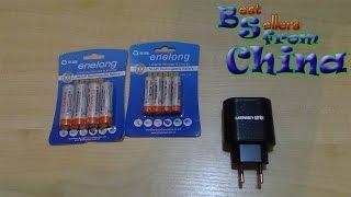 Аккумуляторные батареи АА, ААА + блок зарядки(, 2016-02-03T19:24:18.000Z)