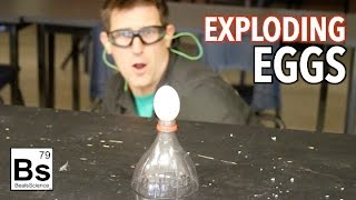 Exploding Eggs - Making Hydrogen Gas from Acid