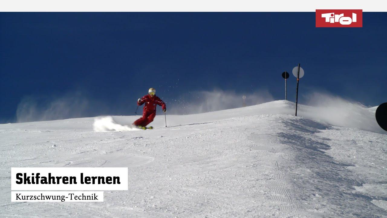 Skifahren lernen kurzschwung technik skikurs online