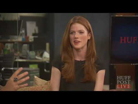 Rose Leslie HuffPost Live 2015 Interview