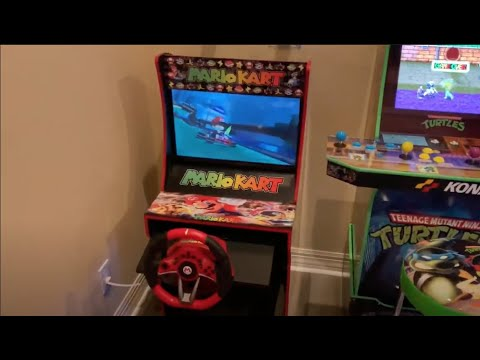 Arcade1up Mario Kart Nintendo Switch Mod - Preview Vid, Review and Install Guide to Follow! from Kelsalls Arcade
