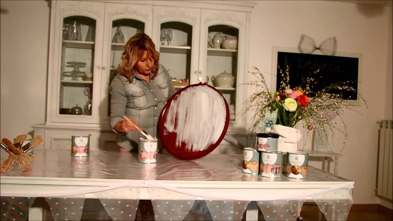 Tutorial Pittura Shabby Chic : Tutorial decora facile youtube
