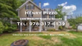 62 West St, Beverly MA - Henry Pizzo - Tel 978-317-6139