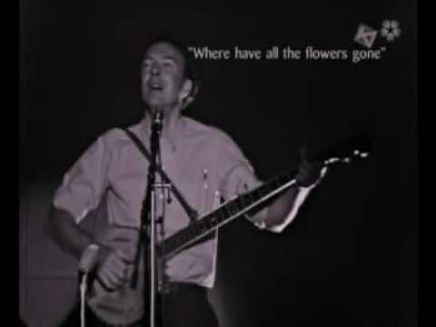 where have all the flowers gone pete seeger youtube. Black Bedroom Furniture Sets. Home Design Ideas