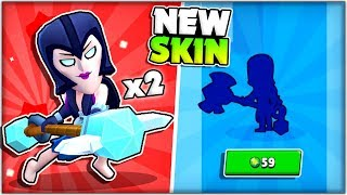 NEW BRAWLER UPDATE SKIN! | Getting 2x Night Witch Mortis Skins! + Giveaway!