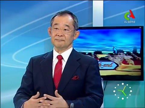 le professeur atsu yanagisawa et dr ilyes baghli sur canal algerie le 25/01/2014
