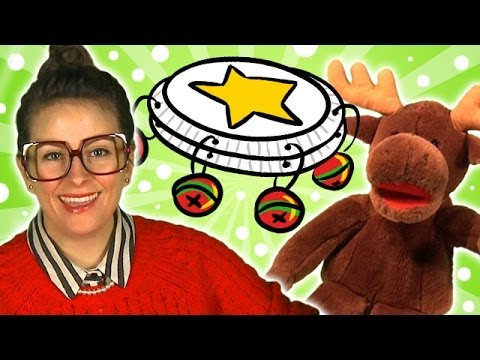 DIY Tambourine - Crafts for Kids w/ Cool School & Marty the Moose!
