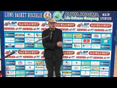 PRESS ROOM Alpha Pharma-Ruvo: coach Ponticiello e Cantagalli