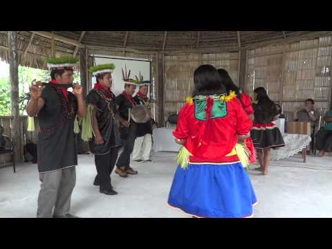 Traditional Cofán Dance