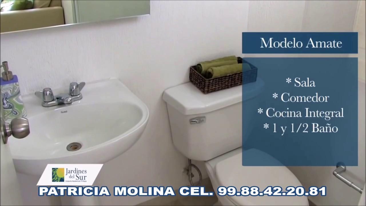 MODELO AMATE - JARDINES DEL SUR ETAPA 4, CANCUN, QROO. - YouTube