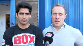 'THIS IS NOT ABOUT BOLLYWOOD, IT'S ABOUT BOXING!' - VIJENDER SINGH (W/ FRANCIS WARREN) ON PRO-DEBUT