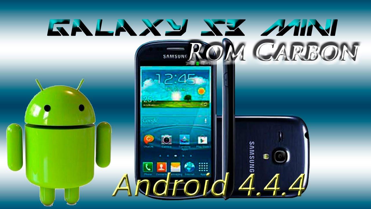 Instala Android 4.4.4 Kitkat Galaxy s3 mini GT-I8190 Rom ...