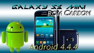 Instala Android 4.4.4 [Kitkat] Galaxy s3 mini GT-I8190 Rom Carbon screenshot 4