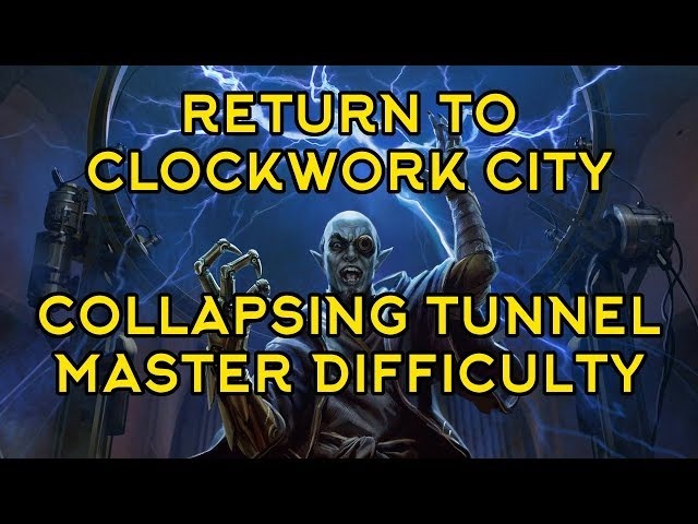 [RtCC] Collapsing Tunnel - Verminous Fabricant (Master Difficulty)
