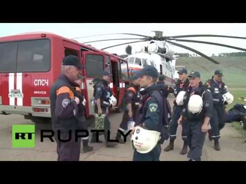 Russia: EMERCOM begins ground operation to find missing Ilyushin aircraft