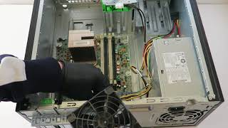 How to Disassembly HP Compaq 6200 Pro