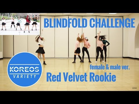 [Koreos Variety] EP 52 - Blindfolded Red Velvet Rookie (Female and Male ver.)